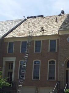 Cedar shake roof in Potomac