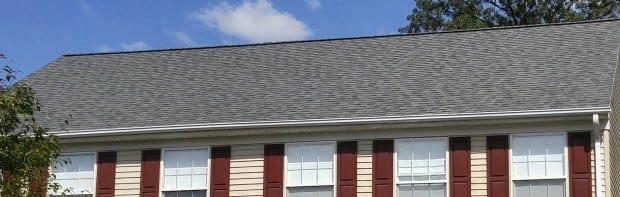 House with new roofing rockville