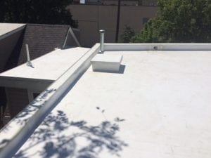 Low slope roofing Bethesda MD