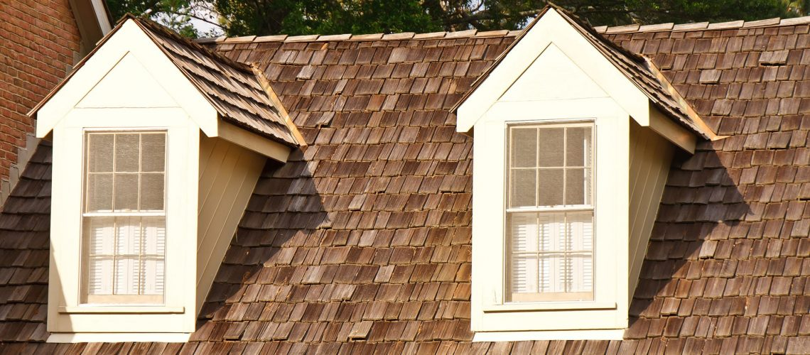 Two Dormers on Wood Shaker Roof